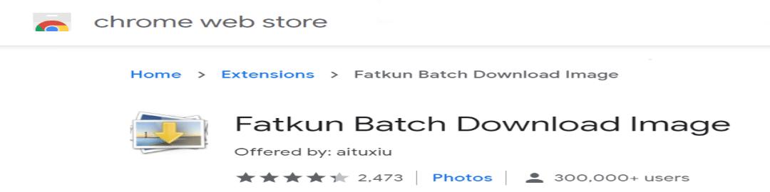 Fatkun Bulk Image Downloader Reviews Image 2