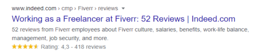 Freelance Services Fiverr