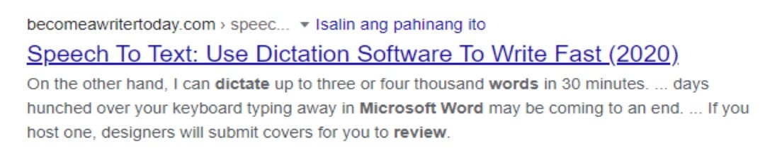 Microsoft Word Dictate Reviews Image 3