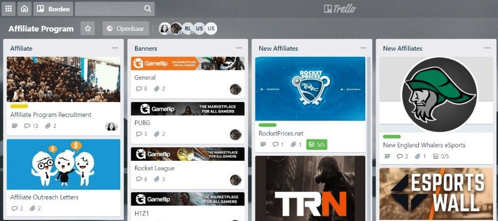 Trello Screenshot Image 2