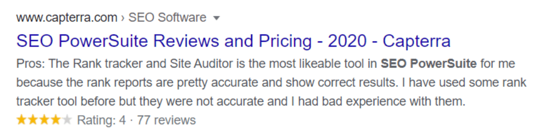 Serp Tracking Tool Reviews Image 1