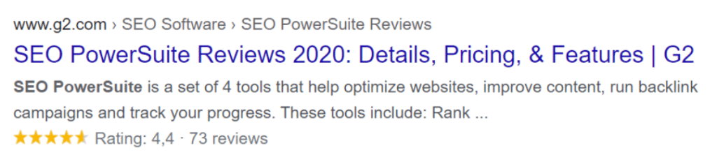 Serp Tracking Tool Reviews Image 2