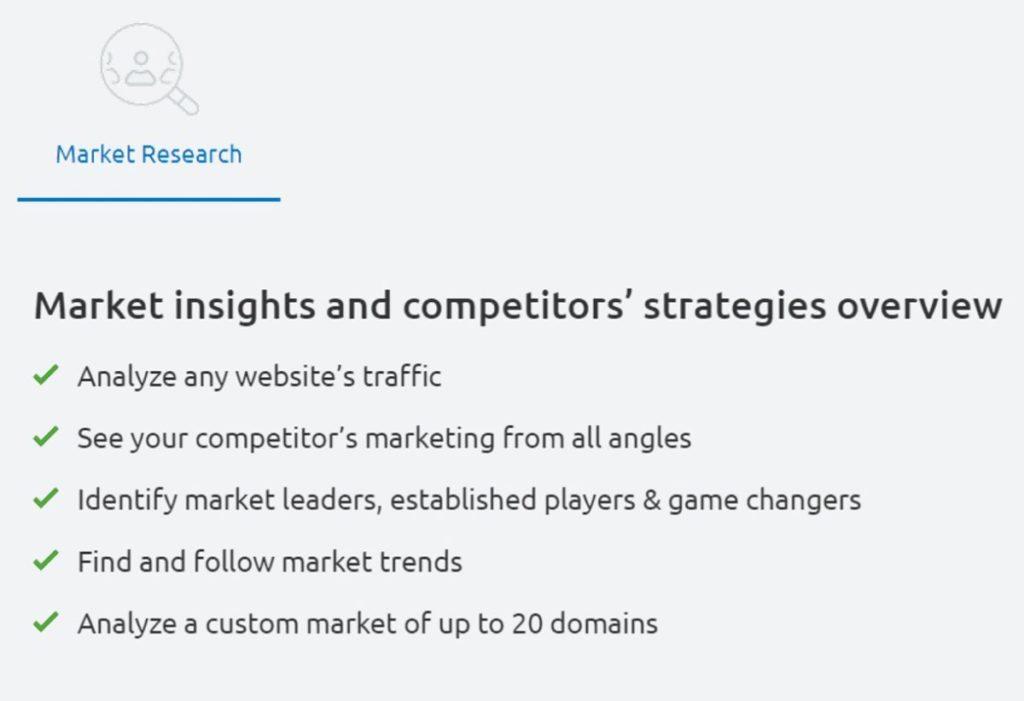 Semrush Market Research Tools